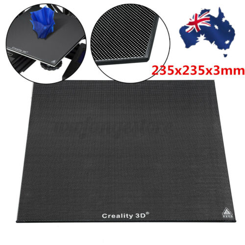 AU 235x235x3mm Glass Heat Bed Plate  For 3D Printer Ender 3 Replacement Parts