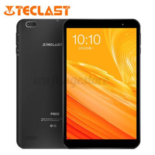 "Teclast P80X 8"" Octa Core 2G+32GB 4G LTE Android 9.0 WiFi Tablet PC Dual  ヮ"
