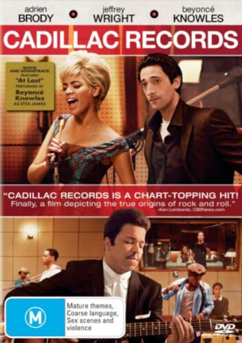 CADILLAC RECORDS DVD R4 BEYONCE KNOWLES ***