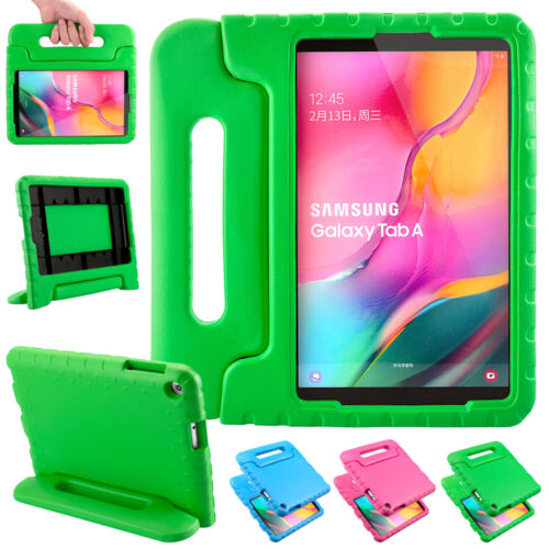 "For Samsung Galaxy Tab A 10.1"" 2019 Kids Shockproof EVA Case Stand Handle Cover"