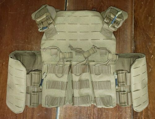FirstSpear Standhogg plate carrier 6/12 Tubes S coyote triple 7.62x39 mag pouchOther Current Field Gear - 36071