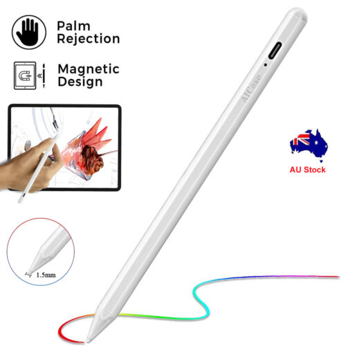 Rechargeable Digital Pencil Touch Screen Pen Stylus Magnetic Design For iPad Pro
