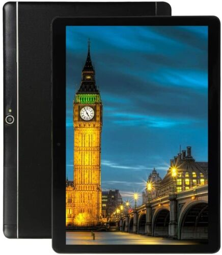 10 inch Android Tablet Octa-Core Phablet 4+64G with Dual Sim Camera GPS Wi-Fi AU