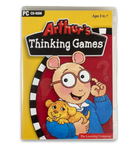 Arthurs Thinking Games for Windows PC, AUSSIE educational software kids learning