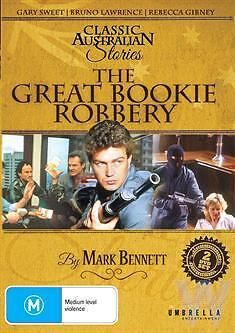 THE Great Bookie Robbery,  Classic Australian Stories  DVD (2 DISCS SET)