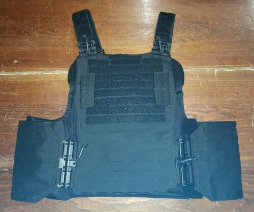 FirstSpear French RAID armor carrier black XL 6/12 Tubes GIGN vest plate SWAT LEOther Current Field Gear - 36071