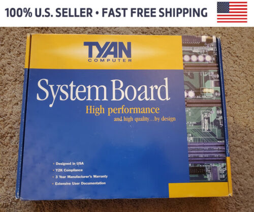 TYAN S1590 S1590S-100MHZ PENTIUM PCI-ISA  #P084A YL MOTHERBOARD (SYSTEM BOARD)