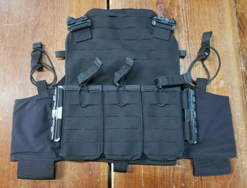FirstSpear Amphibian plate carrier front panel 5.56 mag pocket M black armor AACOther Current Field Gear - 36071