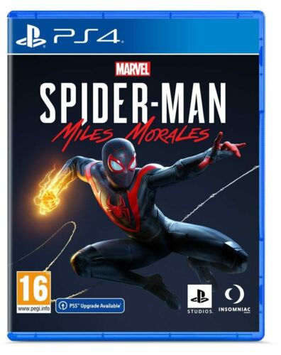 MARVEL'S SPIDER-MAN MILES MORALES PS4 GIOCO ITALIANO PLAY STATION 4 PAL ITA PS5