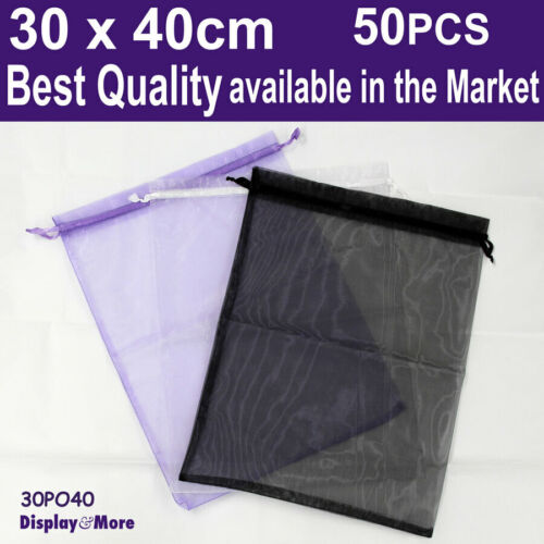 Organza Pouch Bag | Extra LARGE 30x40cm | 50pcs | BEST QUALITY | AUSSIE Seller