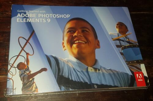 Adobe Photoshop Elements 9 & Adobe Premiere Elements 9 - NEW AND SEALED