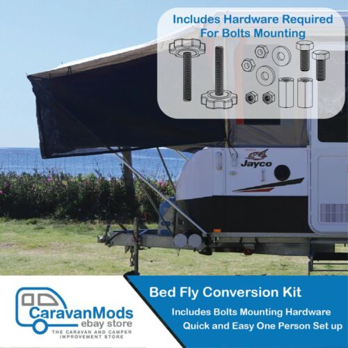 Jayco Bed Fly Conversion Kit Suit Jayco Camper Trailer CaravanMods - Universal <br/> ☆ Customise your Mounting - Includes Mounting Hardware☆