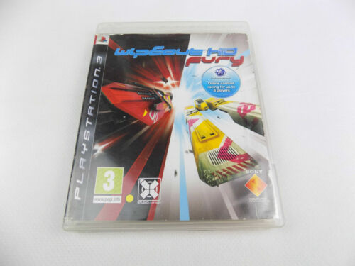 Mint Disc Playstation 3 Ps3 WipEout HD Fury Free Postage