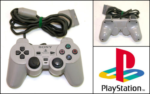 Genuine Sony PlayStation PS1 PS2 Controller (SCPH-1200)
