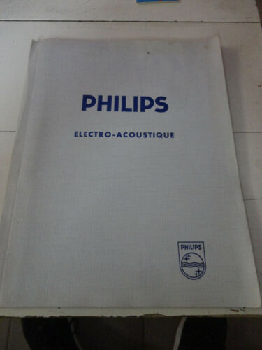 ancienne notice technique micro emetteur  philips