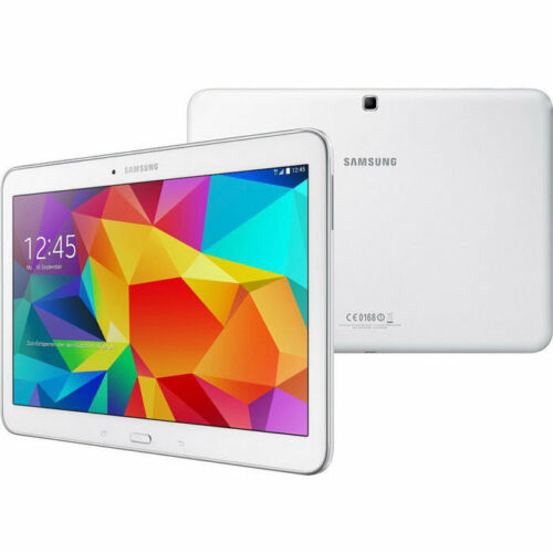 """Samsung Galaxy Tab 4 10.1"""" Wifi 16GB SM-T530 Android 4.4 White Excellent Grade"""