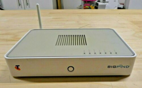 Telstra Bigpond Wi-Fi Modem/Router Thomson TG782T (No Adapter)