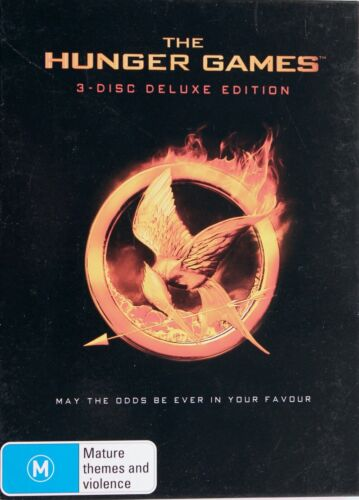 The Hunger Games DVD - 3 Disc Deluxe Edition - Free Post