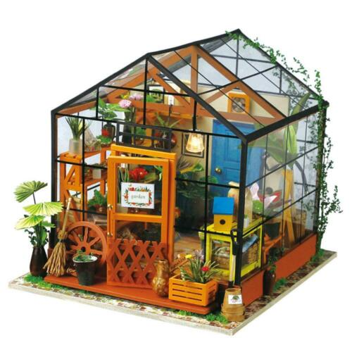 Robotime DIY Miniature House Cathy's Flower House DG104 VIC warehouse fast post