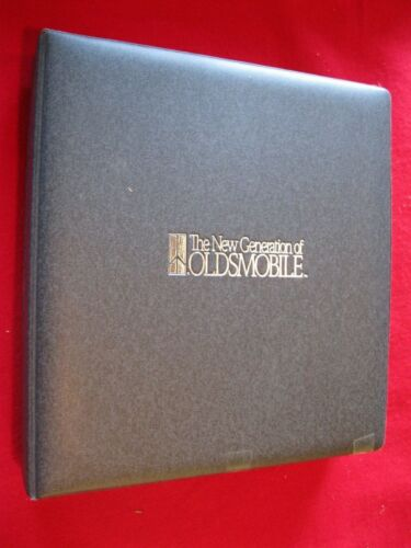 1990 Oldsmobile Product Dealer Binder/Album: Options-Features-Colors-Upholstery