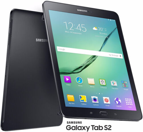 Samsung Galaxy Tab S2 SM-T715 32GB, Wi-Fi + 4G, 8in - Black Tablet Unlocked
