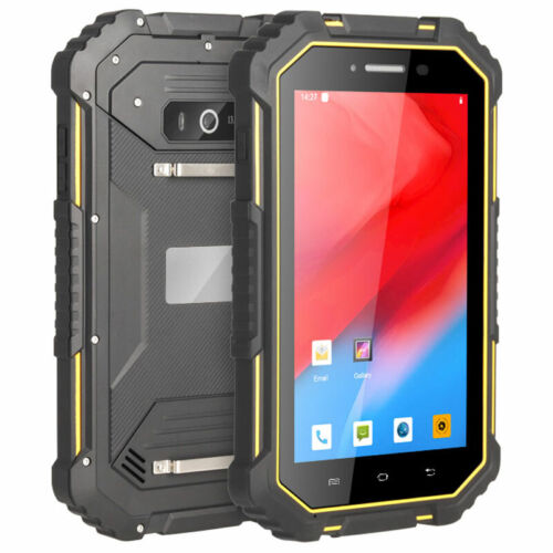 """7"""" WIFI 4G LTE Rugged Android 9.0 Smartphone Cell Phone Tablet NFC Waterproof"""