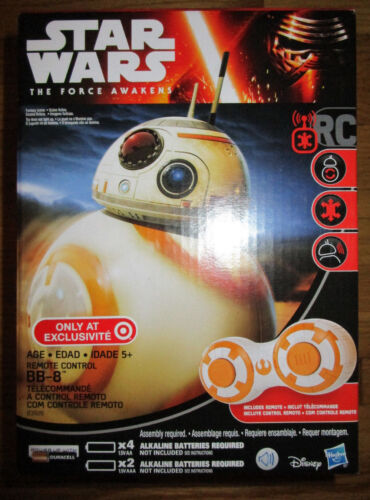 STAR WARS FORCE AWAKENS REMOTE CONTROL BB-8 ROBOT RC DROID TARGET EXCLUSIVE