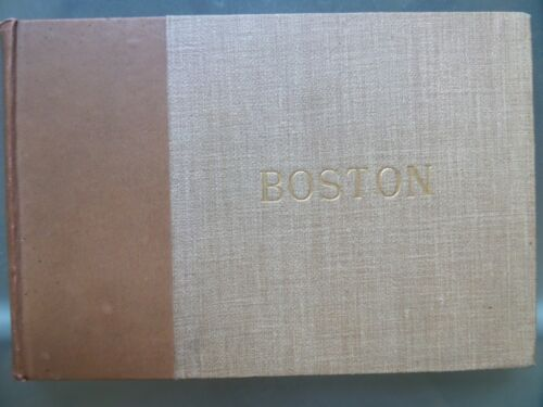 Pictorial Historic Boston By Charles Pollock 1891 16 Photogravures Very Rare