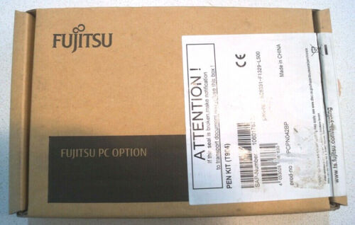 Stylus black original for Fujitsu LifeBook T904 series with string, Pack of 2