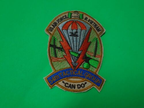 USAF 34th Tactical Group CAN DO Patch From Vietnam War EraPatches - 104015