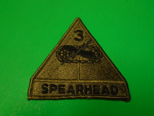 US 3rd ARMORED DIVISION Merrowed Edge Subdued PatchArmy - 66529