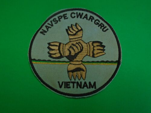 US Navy Machine Embroidered Patch NAVAL SPECIAL WARFARE GROUP VIETNAMPatches - 104015
