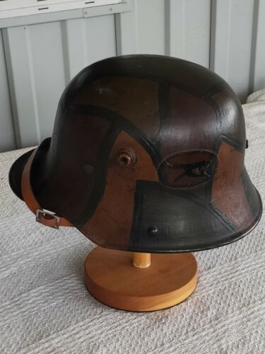 Ww1 german helmet camo1914 - 1918 (WWI) - 13962