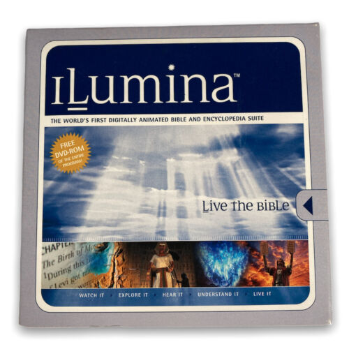 iLumina Visual Bible & Encyclopaedia CD New Living Translation digital animated