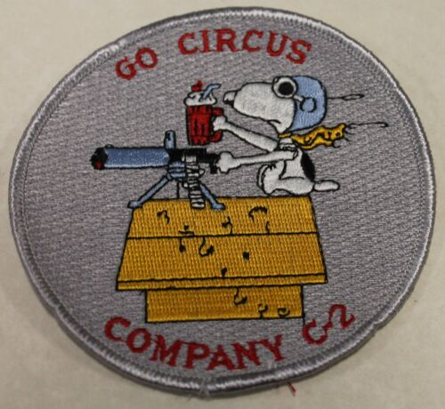 West Point G-2 Company Circus Snoopy US Military Academy Army Jacket PatchOriginal Period Items - 156451