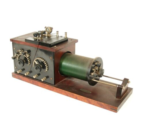 1917 Duck 5BB Loose Coupler Radio With Clapp Eastham Y 675 Universal Detector