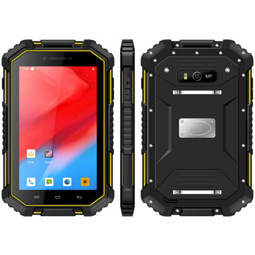"""7"""" WIFI 4G LTE Rugged Android Smartphone Cell Phone Tablet NFC Waterproof Mobile"""