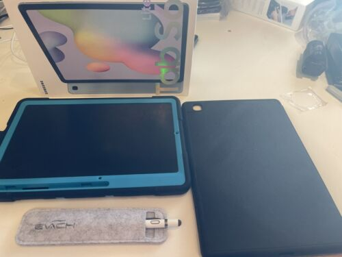 Tab Lite S6 Blue, 2 Case Barely Used new pin