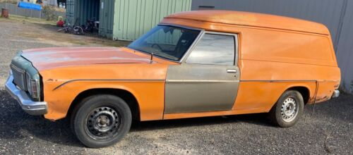 HX HOLDEN WINDOWLESS PANELVAN 1977