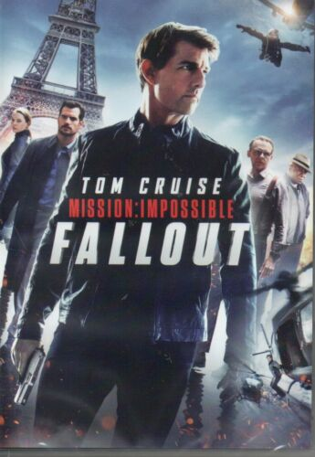 FALLOUT MISSION IMPOSSIBLE DVD