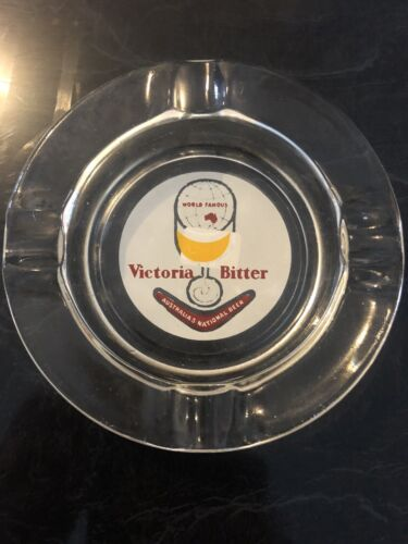 Victoria Bitter Beer Old Ashtray