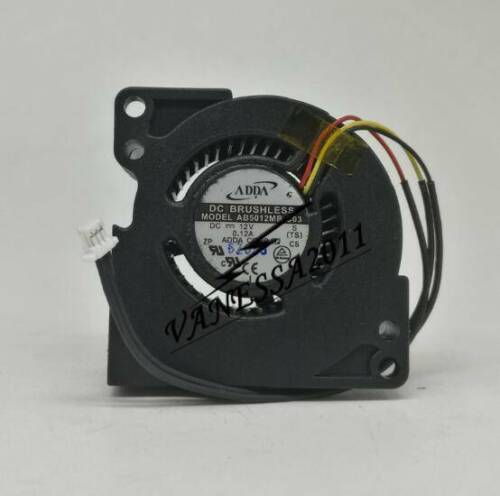 MP515 Projector blower ADDA AB5012MB-C03 DC12V 0.12A 50x50x20mm blower cooling