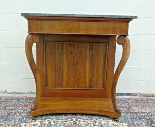 Console in noce impero 1820 francese