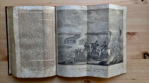 PRINTED 1824 ANNALS OF THE AMERICAN REVOLUTION INDIAN WARS INDEPENDENCE BATTLES