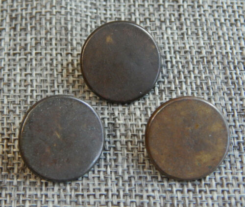 Lot of Antique Vtg Early Primative Buttons Back Marked #930-B