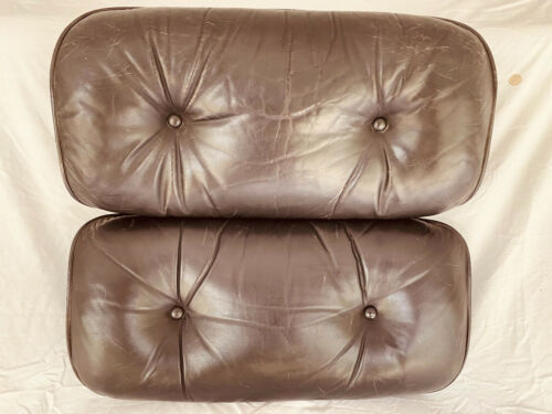 HERMAN MILLER EAMES LOUNGE CHAIR and OTTOMAN cushions only
