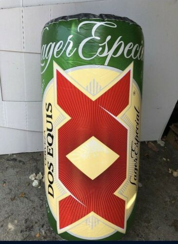 New Dos Equis XX Can Inflatable Beer Bar Party Pool Blow Up Beach Party Sign