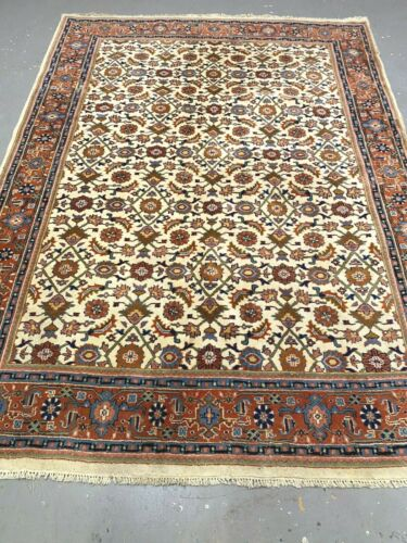 antiques-swiss****** Beautiful Antique Indo SARUGHI rug 5`6 x 7`8  ft