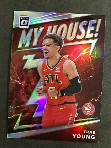 2019-20 Donruss Optic My House Holo #18 Trae Young