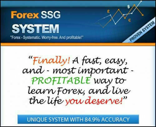 SSG PRO! Forex Trading System with Signals for MT4 Platforms